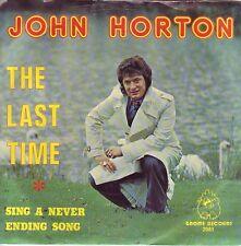 """7"" - JOHN HORTON - The last time - sehr RAR !!!"