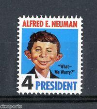 Alfred E. Neuman - 1964 Mad Magazine Novelity Stamp - Mnh Very Scarce