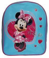 DISNEY sac à dos bleu MINNIE école L 25 x H 31 x P 10 cm maternelle