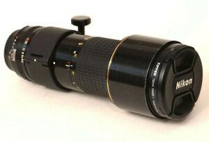 NIKON Ai-S Nikkor ED 300mm F4.5 #221776 Internal/Manual Focus Lens - EXCELLENT!