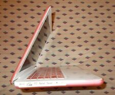 """Apple MacBook A1342 13.3"""" Laptop, 2009 OR 2010 Model, 250GB HDD, With Pink Cover"""