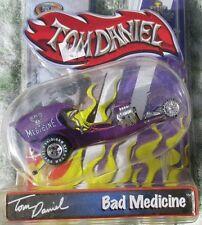 TOM DANIEL'S BAD MEDICINE DRAGSTER TOM DANIEL TOY ZONE 1:43 MIP SHOW CARS