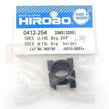 HIROBO 0412-254 SCEADU SD EX W=19MM BEARING HOLDER #0412254 HELI PARTS