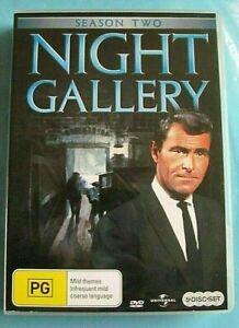 NIGHT GALLERY Season 2 DVD Horror Region 4