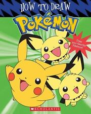 Pokemon: How to Draw Pokemon by Tracey West (2003, Paperback) Pikachu and others
