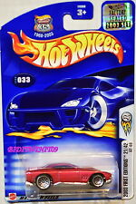 Hot Wheels 2003 First Editions Gt-03 #033 Red Factory Sealed
