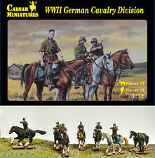 WWII German Cavalry Division Caesar Miniatures H092- 1/72 Scale