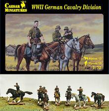 Wwii german cavalry division caesar miniatures H092-échelle 1/72