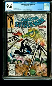 Amazing Spider-Man #299 (1988) CGC 9.6 1st Venom Cameo MCFARLANE MARVEL