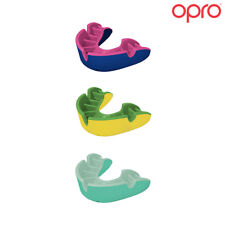 OPRO Silver level Flavored Adult Mouth Guard for Ball, Stick, and Combat Sports