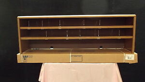 "SAFCO MODEL 3526MO 56""VALUE MATE STEEL DOULBLE-SHELF DESKTOP TOPPER UNIT"