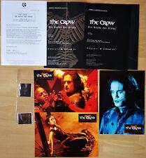 VINCENT PEREZ - The Crow: City of Angels 1996 * GERMAN PRESS CAMPAIGN + slides