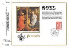 BELGIEN CEF 1977 ETB ERSTTAGSBLATT WEIHNACHTEN CHRISTMAS NOEL NAVIDAD z1535