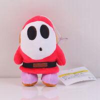 Shy Guy Plush Toy Super Mario Bros. Stuffed Animal Doll Kids Xmas Gift 5 inch