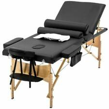 Massage Table Massage Bed Spa Bed Heigh Adjustable 3 Fold 84 Inch Massage Table