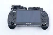 Sony PS Vita PCH1101 Console Hand Grip 2 Charging Cables 8GB Memory Card