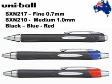 Uni-ball Jetstream Rollerball Pen Fine SXN217 or Med SXN210 Black Blue Red