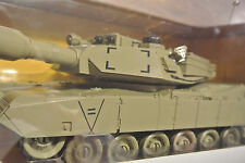 """U.S.ARMY M1A2 Tank DESERT TAN Infrared RC Lights Track Turret 4749 ***LARGE ~16"""""""