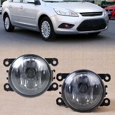 1× Universal Car SUV Driving Right & Left Side Fog Light Lamp +H11 Bulbs 55W Top