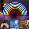 Arcobaleno Neon Insegna Parete LED Lampade Bambini Camera Comodino Luce Notturna