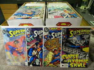 DC Comics SUPERMAN The Man Of Steel #1-134 + An. & Mini Series #1-6 - You Pick