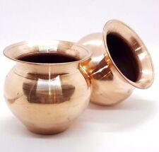 Copper pot Vase Planter Cacti or Plants, Size 90mm x 85mm House Item Steampunk