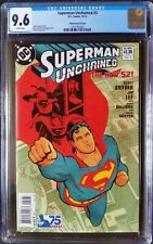 Superman Unchained (2013 DC) #3 Chiang Modern Age Variant CGC 9.6 1:25