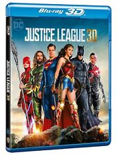 DC JUSTICE LEAGUE (BLU-RAY 3D) NUOVO, ITALIANO, ORIGINALE
