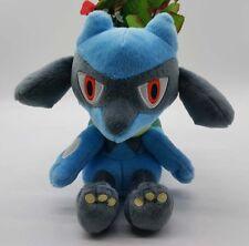 "2016 New TOMY Original Pokemon Game Riolu 7"" Plush Stuffed Doll"