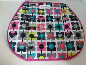 Baby Trend EZ Ride 35 Travel System Fabric Pink Car Seat Insert Back Support.