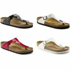 Birkenstock Gizeh Birko-Flor Patent Womens Sandal in Various Sizes and Colours