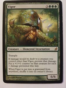 Vigor MTG Magic the gathering.Lorwyn. New never played.