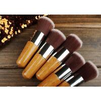 Soft Flat Foundation Face Blush Kabuki Powder Contour Makeup Brush Cosmetic Tool