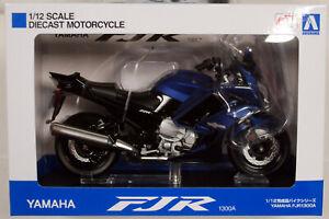 Yamaha FJR 1300 A blau 1:12 Aoshima 106792
