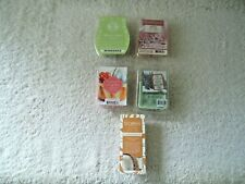 Mixed Lot Of 5 Packs Of Opened Scentsy,Scentsationals / Other Wax Cubes