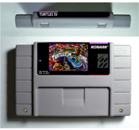 Teenage Mutant Ninja Turtles IV Turtle in The Time for Super SNES PAL