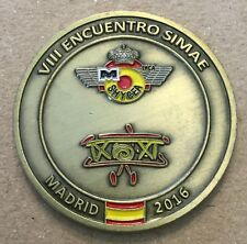 SHYCEA FIDEHAE Spanish Air Force Challenge Coin Medal