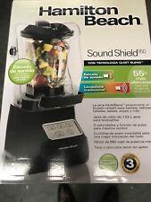 **Hamilton Beach Sound Shield 950 Quiet Blender Grey noise cancelling blending**