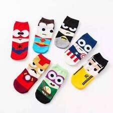 Low Cut Novelty Socks - Cute Superhero Batman Cap Printed Socks + FREE SHIPPING