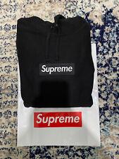 Supreme Box logo Hoodie Black FW16 XL