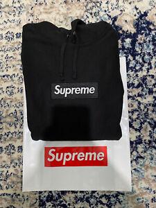 Supreme Box logo Hoodie Black FW16 Extra large