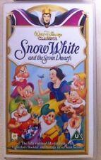 Disney Snow White VHS