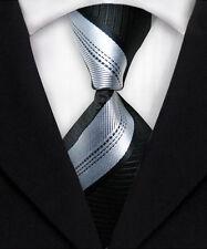 Stylish Striped Skinny Tie Slim Punk Party Fashion Necktie Formal Casual M032