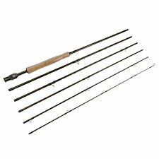 IM8 6 pieces Travel Fly Rods 8'9'', 9'1'', 10'3''  Fishing Rod fast action fast