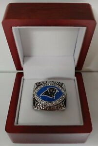 Jake Delhomme - 2003 Carolina Panthers NFC Championship Ring WITH Wooden Box