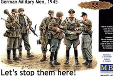 Masterbox 1:35 - Germansoldiers 1945 Lets Stop Them…. - 135 German Them Scale