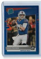 2020 Donruss football optic preview blue parallel Jake Fromm 029/125 Buffalo