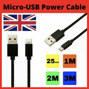 Heavy Duty Micro-USB Fast Power Charger Cable Charging Lead 0.25M 1M 2M 3M Long