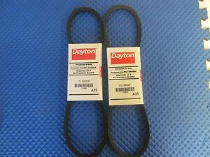 New Dayton A35 Belt 3X620P Buy it Now=2 pcs Free shipping