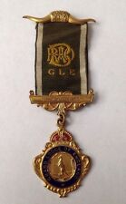 Antique/Vintage 1953 Grand Lodge Of England Thornton Lodge Gilt Masonic Medal.